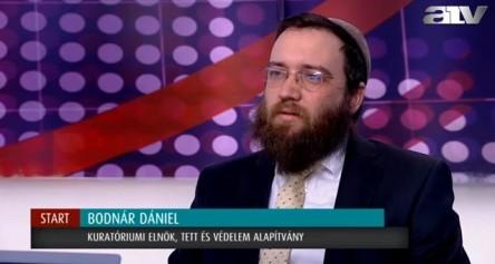 Bodnár Dániel TEV kuratóriumi elnök interjúja az ATV Start című műsorában