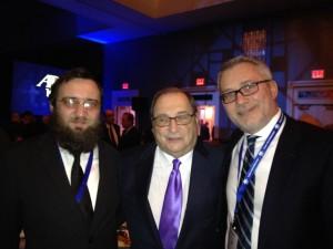 A TEV képviselői Abraham Foxman-nel, az ADL igazgatójával