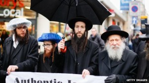 Members of the Jewish community also joined the protest against Jobbik