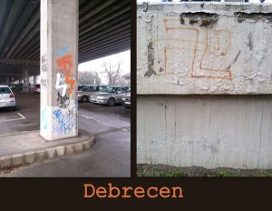 Horogkeresztek Debrecenben