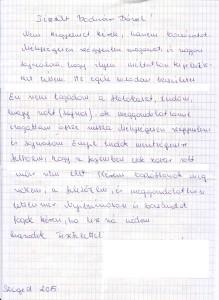 Részlet a bocsánatkérő levélből