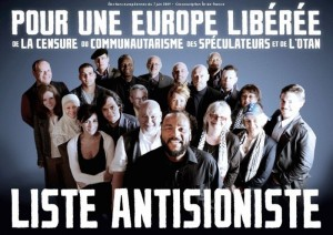 Liste antisioniste