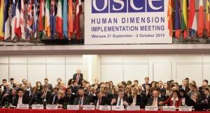 Az EBESZ varsói konferenciája