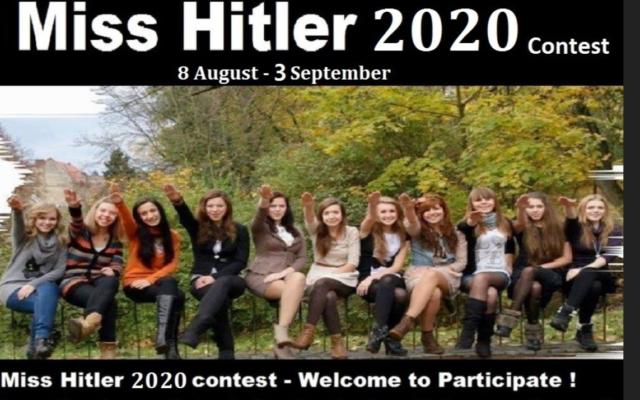 Miss Hitler szépségverseny 2020