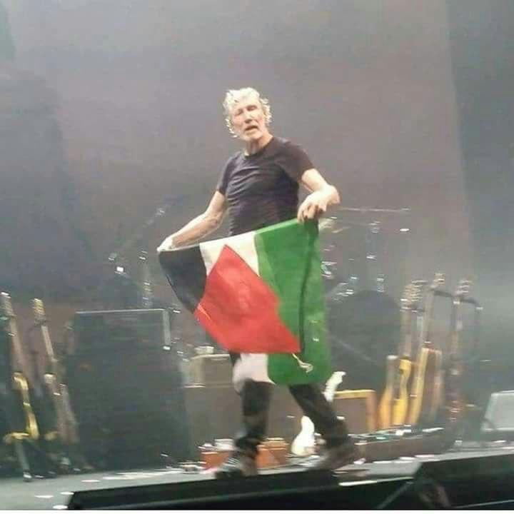 A Pink Floyd frontembere eltörölné Izraelt