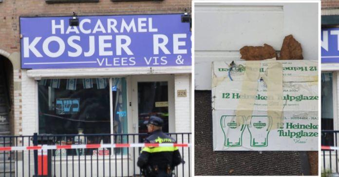 Sorozatos vandáltámadások egy amszterdami kóser étterem ellen