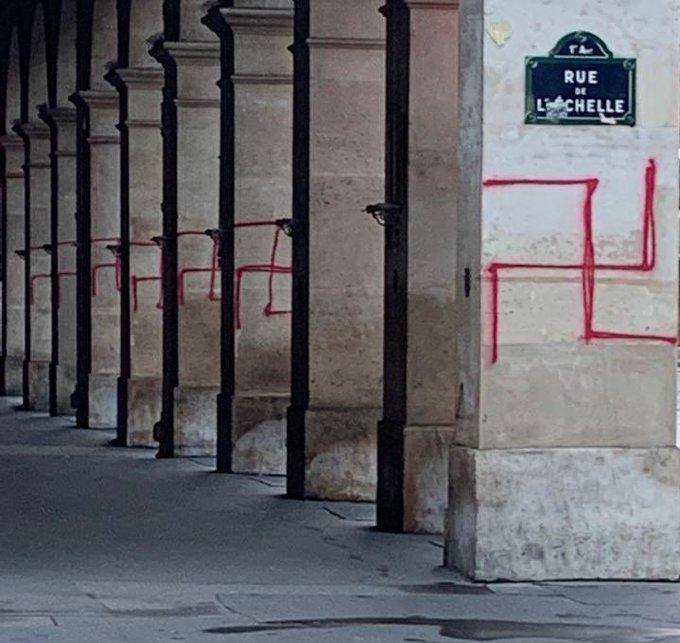 A francia bíróság szerint a szvasztika nem minősül antiszemita jelképnek