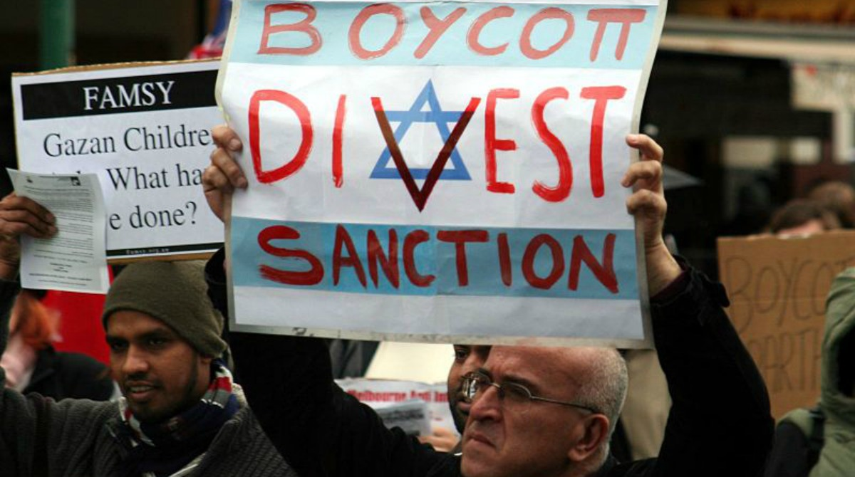 Miért antiszemita mozgalom a BDS?