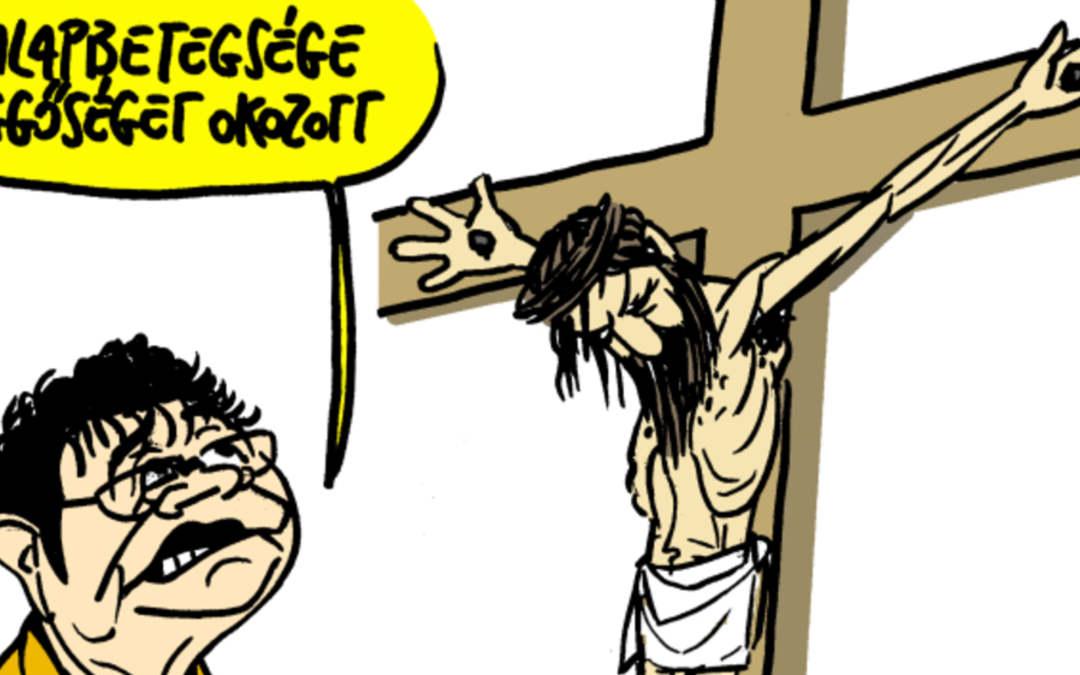 Tiltakoznak a vallási közösségek a népszavás kereszténygyalázó karikatúra ellen