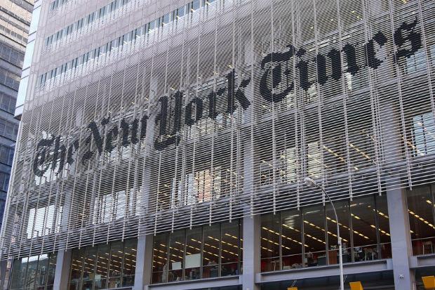 Kiderült, miért nem számolt be a New York Times antiszemita incidensekről